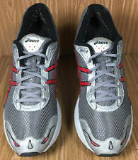 Asics Gel Oberon TN726 Men's Athletic Running Shoes Gray Red Size 13 M
