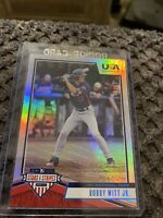 2019 USA Baseball Stars and Stripes Longevity Holofoil #89 Bobby Witt Jr. /99