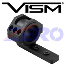 "VISM Low Profile KeyMod 30mm 1"" Inch Tube Optics Flashlights Lasers Ring Mount"