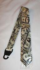 Money Dollar Bills Mens Tie Necktie New Cash Hundreds Twenty Fifty $