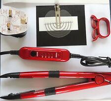 HOT FUSION HEAT CONNECTOR IRON KIT  metallic PRE-BONDED NAIL TIP U TIP HAIR