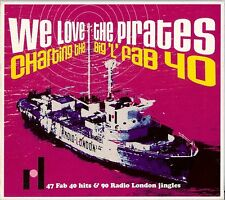 """VARIOUS ARTISTS - WE LOVE THE PIRATES CHARTING THE BIG """"L"""" FAB 40 2 CD 2003"""
