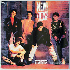 "New Kids on the Block - Step By Step (12"" Single) (1990) [SEALED] Vinyl, Remix"