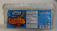 Sour Rainbow Candy Belts 200 count Vidal