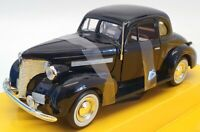 Motor Max 1/24 Scale Model Car 031205 - 1939 Chevrolet Coupe - Black