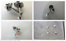 Orecchini di bigiotteria multicolore in acciaio