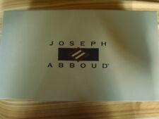 NIB JOSEPH ABBOUD LACE WINGTIP LEATHER DRESS SHOES 10D RETAILS $139 -FREE S&H