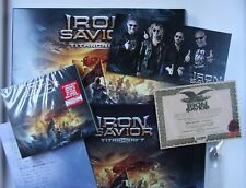 Iron Savior Titancraft GER CD Box 2016 + Tinplate Autographes Certificate etc.