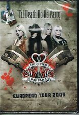 CRUCIFIED BARBARA - EUROPEAN TOUR 2009 'TIL DEATH DO US PARTY PAL REGION 2 DVD