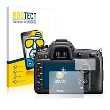 2x Brotect matt Schutzfolie für Nikon D7100 Displayfolie