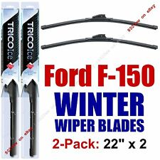 WINTER Wipers 2-Pack Premium Snow Ice - fit 2009+ Ford F-150/F150 - 35220x2
