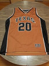 Texas Longhorns XL NCAA Basketball Jersey Big 12 Austin