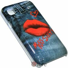 Cover Custodia Per SAMSUNG Galaxy s I9000 I9001 Love Miss Sixty Rigida jeans
