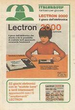 X9984 Lectron 2000 il gioco dell'elettronica - Pubblicità 1976 - Advertising