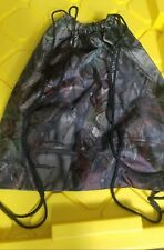 "Camo Drawstring bag/ Cinch Bag, 15"" x 13"""
