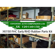 6799 E RHD    Jaguar XK150 FHC (Fixed Head) Complete Rubber Parts Kit RPK150F