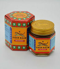 4 x21 gm Tiger Balm Red  aches pain relief ointment massage rub FREE SHIP