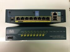 TESTED Cisco ASA 5505 Series Fast Ethernet Firewall Adaptive Security Appliance