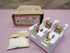 New Vintage Steampunk Bryant 1918 Cartridge Fuse Cutout Holder 31 60a Porcelain