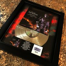 Michael Jackson History Platinum Disc Record Album Music Award MTV Grammy RIAA
