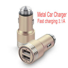 Dual USB Twin Port Universal Car Phone Charger Adapter Plug
