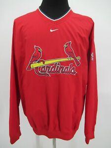 P4974 VTG Nike Men's St. Louis Cardinals Baseball-MLB Nylon Jacket Size XL