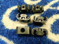 6 X FORD CORTINA  BRAKE PIPE CLIPS FOR 3/16 PIPES