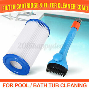 Handheld Filter Cleaning Brush Filter Jet Cleaner Pool Hot Tub Spa Swimming-Pool