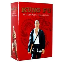 Kung Fu: The Complete Series Collection Seasons 1 2 3 (DVD, 16-Disc Box Set) New