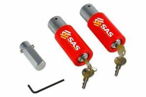 Set of 2, Two SAS Heavy Duty Caravan Tourer Corner Steady Stabiliser Leg Locks