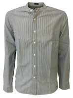 LEE 101 camicia uomo collo guru righe blu/bianco L93ABKGQ regular fit cotone