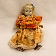 Vintage Bisque doll Made in Japan 6 1/2� Tall Pin Jointed