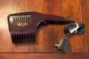 Hot n Silky Electric Dryer Brush Model 234205 Working!