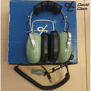 David Clark Helicopter Aviation Headset Microphone Model H10-56 Noise Reduction