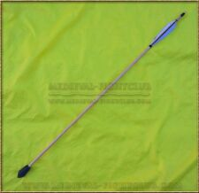 Whistling Arrow SINGLE B&W cut feathers with target points Traditional Archery