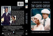 The Great Gatsby ~ New DVD ~ Robert Redford, Mia Farrow (1974)