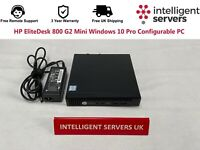 HP EliteDesk 800 G2 Mini i5-6500T Windows 10 Pro Configurable PC