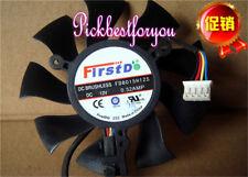 75mm ATI Sapphire HD 4890 5850 6790 Fan  39mm 4Pin  FD8015H12S 0.32A #M766 QL