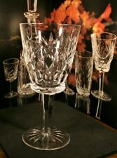 """Waterford Crystal ASHLING  Water Goblet~ 6 7/8""""  600/786"""