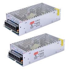 2 Pack Ac 110v 220v To Dc 12v 125a Switch Power Supply Driver Adapter Led Light