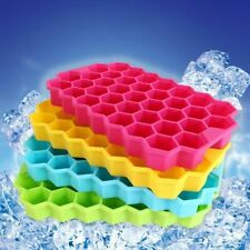 Honeycomb Style Ice Cube Tray Pudding Jelly Maker Mold Square Mould Silicone DIY