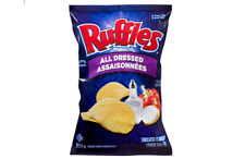 Ruffles All Dressed Potato Chips 220g FRESH CANADIAN