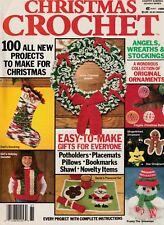 ~ ~ ~ CHRISTMAS CROCHET ~ 1988 ~ 100 EXCELLENT CROCHET PATTERNS ~ ~ ~