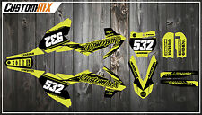 KTM SX50 kit de gráficos SX65-serie Fluorescente/Fluoro/fleuro/Amarillo Neón