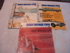New listing Factory Ford Body Shop Repair Tips Volumes 1/1, 2/1, 2/2 1978 1979