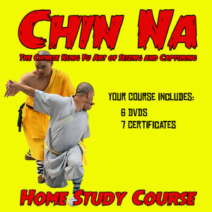 Home Study Course: Chin Na (Qinna) with 6 DVDs + 7 Certificates
