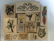 (M44) *You Pick* Assorted Animal Rubber Stamps Assorted Brands