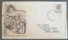 1951 Australia Stamp Fdc - 3 1/2d New Stamp Issue - 28/11/51