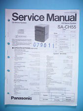 Service Manual-Anleitung für Panasonic SA-CH55 ,ORIGINAL