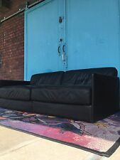 Desede DS 76 Lounge Sofa Schwarz Leder Klassiker De Sede Luxus Sofa Daybed